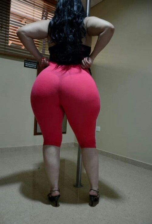Bbw booty in khaki pants