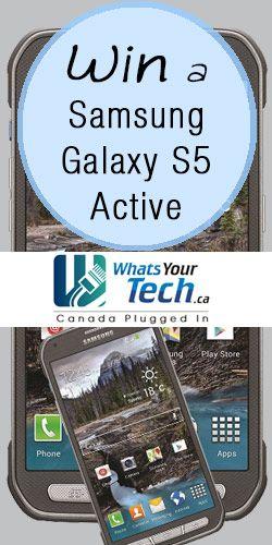 #Win a #Samsung Galaxy S5 Active