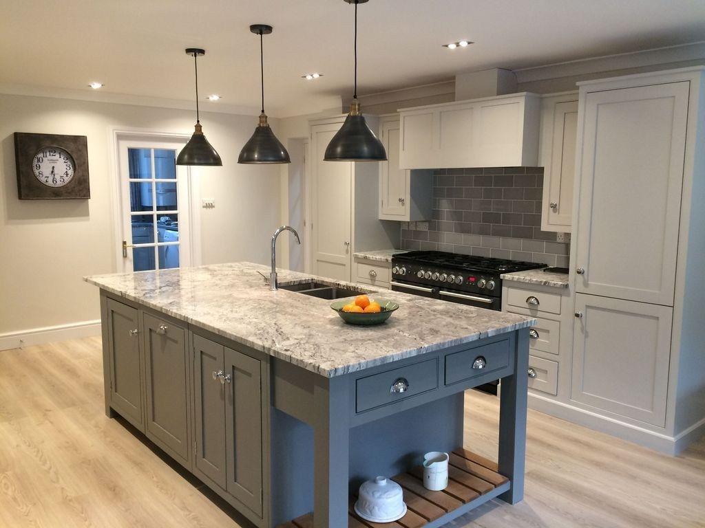 20 stylish soft grey cabinet design ideas for your kitchen classic kitchen design granite on kitchen decor grey cabinets id=85555