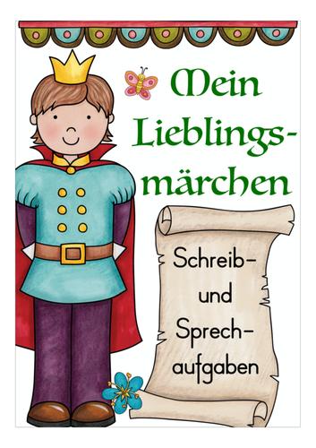 mein lieblingsmärchen  märchen grundschule