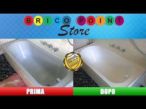 Vasca Da Bagno Brico : Fai da te come verniciare la vasca da bagno con smalto ceramico