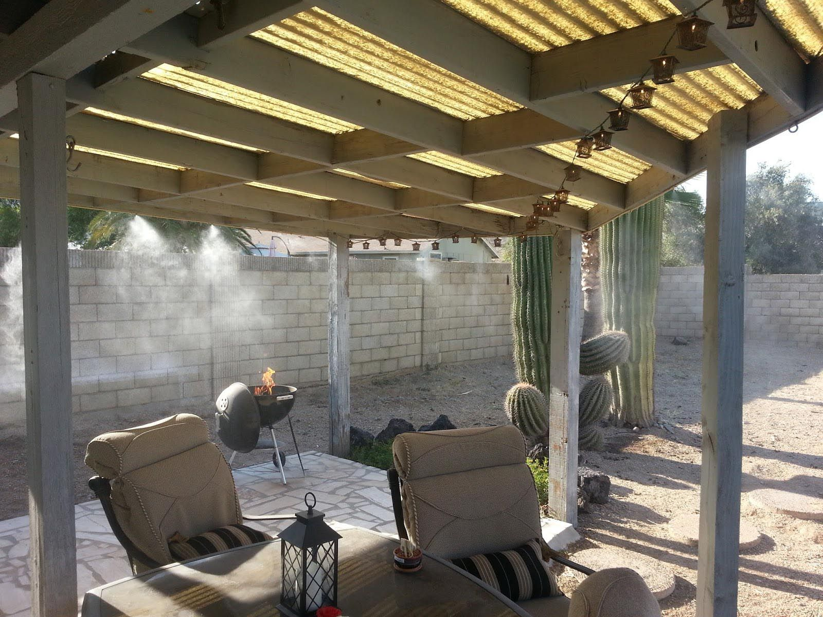 Diy Outdoor Mist Cooling System Outdoor Misting Systems Diy