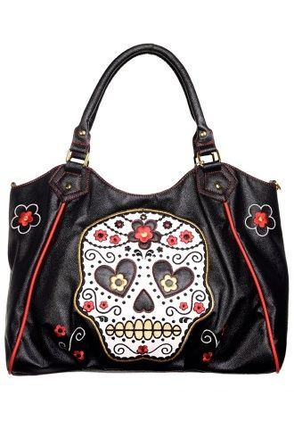 Banned Arel Purse Purses Wallets Handbags Oh My Sugar Skull Handbag