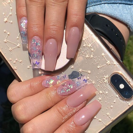 31 Awesome Acrylic Nail Designs Ideas For This Summer 2020 Page 17 Of 31 Creative Vision Design Long Acrylic Nails Acrylic Nails Tapered Square Nails
