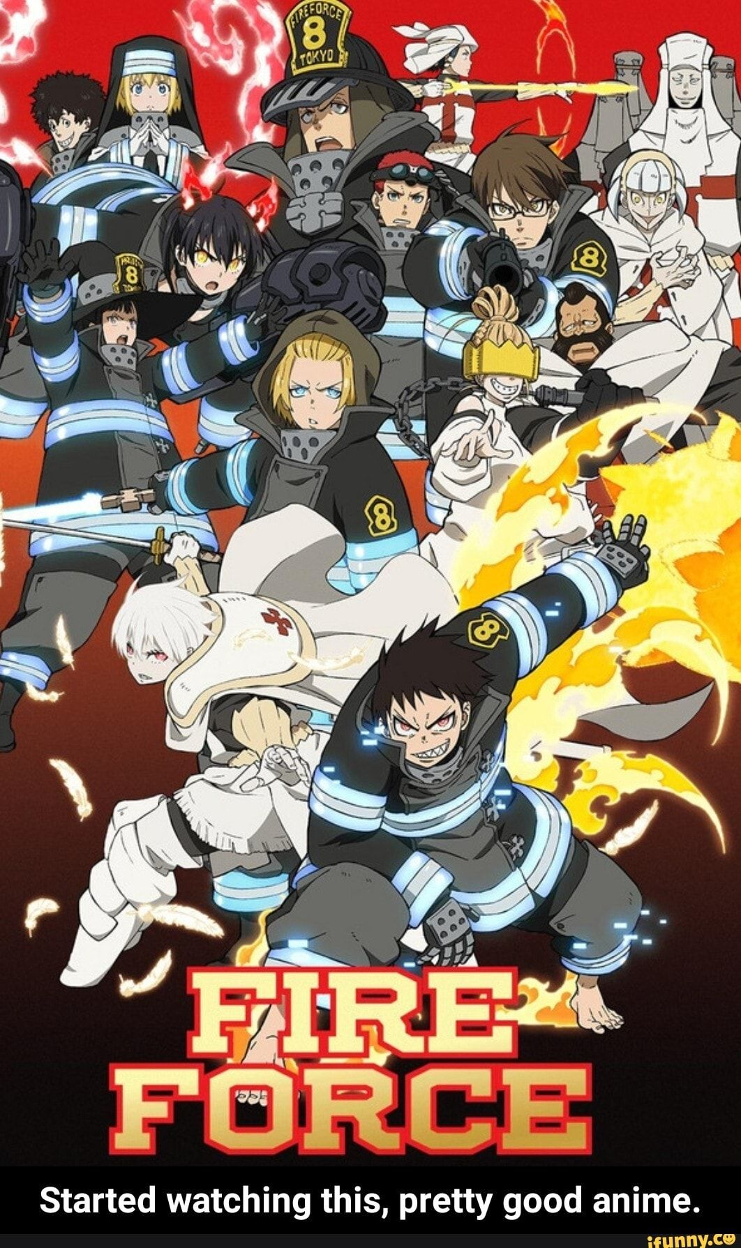 Started Watching This Pretty Good Anime Started Watching This