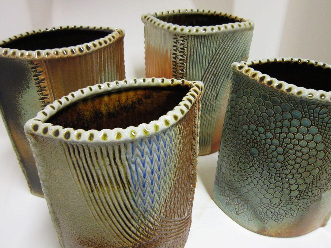 5614 slab vases pottery pinterest pottery pottery ideas soda fired textured slab vases by gary jackson fire when ready pottery reviewsmspy