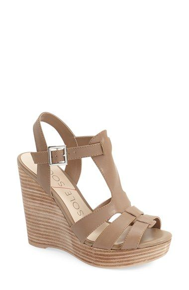 ebd92821b600 Sole Society  Chaya  Platform Wedge Sandal (Women) available at  Nordstrom