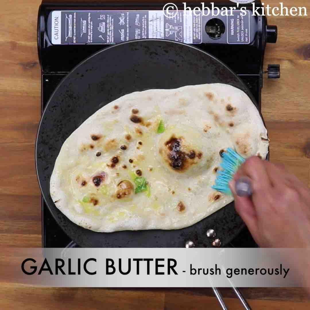 Garlic naan recipe | homemade garlic naan recipe without ...