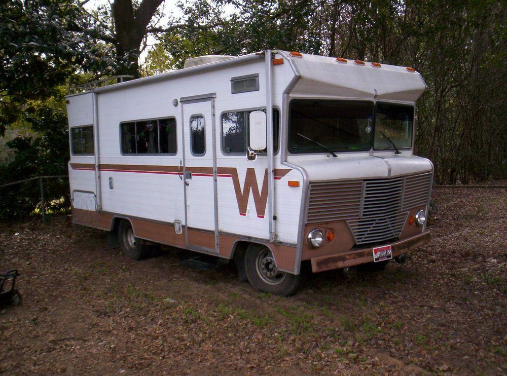 Details about 2002 Winnebago Brave | ~Our Happy Camper Rose Havyn