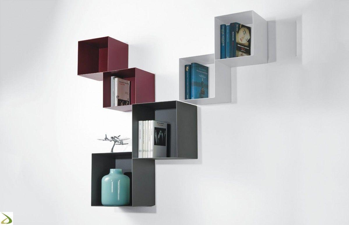 Libreria Da Parete Ikea cubi colorati da parete ikea