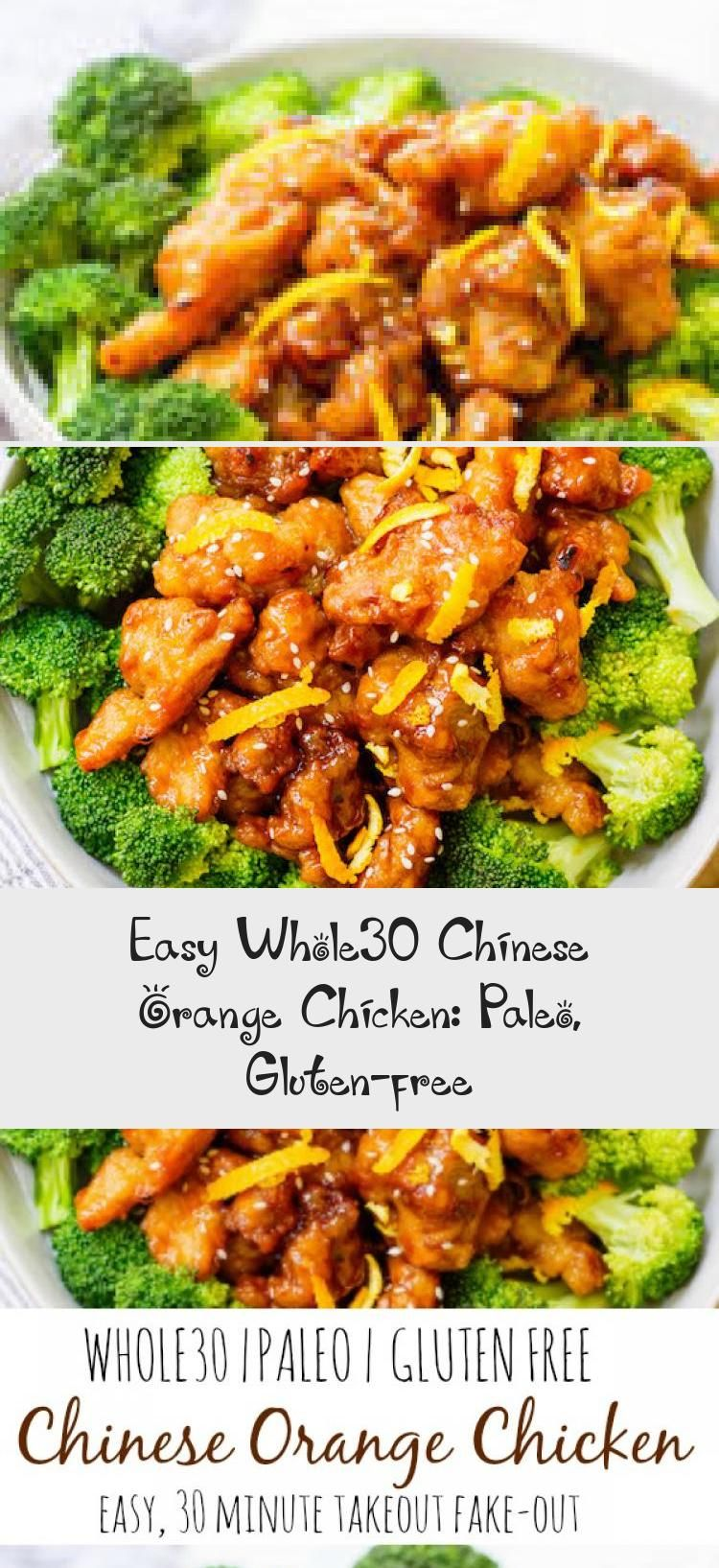 Easy Whole30 Chinese Orange Chicken Paleo Gluten Free Chinese Orange Chicken Orange Chicken Whole 30 Chicken Recipes