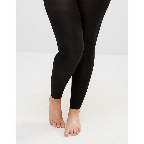 15c2eee38241e Yours 80 Denier Footless Tights ($9.05) ❤ liked on Polyvore featuring plus  size women's
