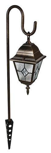 tiffany bronze low voltage path light