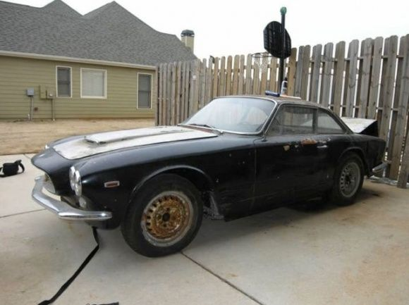 1963 Maserati Sebring Series 1 3500 GT Barn FInd Project For Sale Front