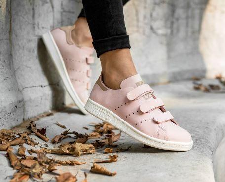 plus de photos 48eba ca54b adidas Low-Top adidas Stan Smith OP CF Stan Velcro pink 7 ...