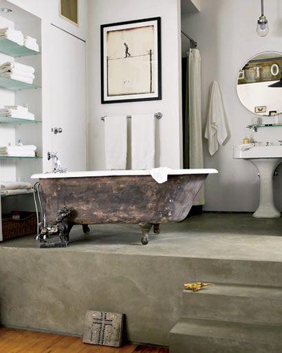 Cheryl Crow\u0027s bathroom Hola dreamy bathtub decoration ideas