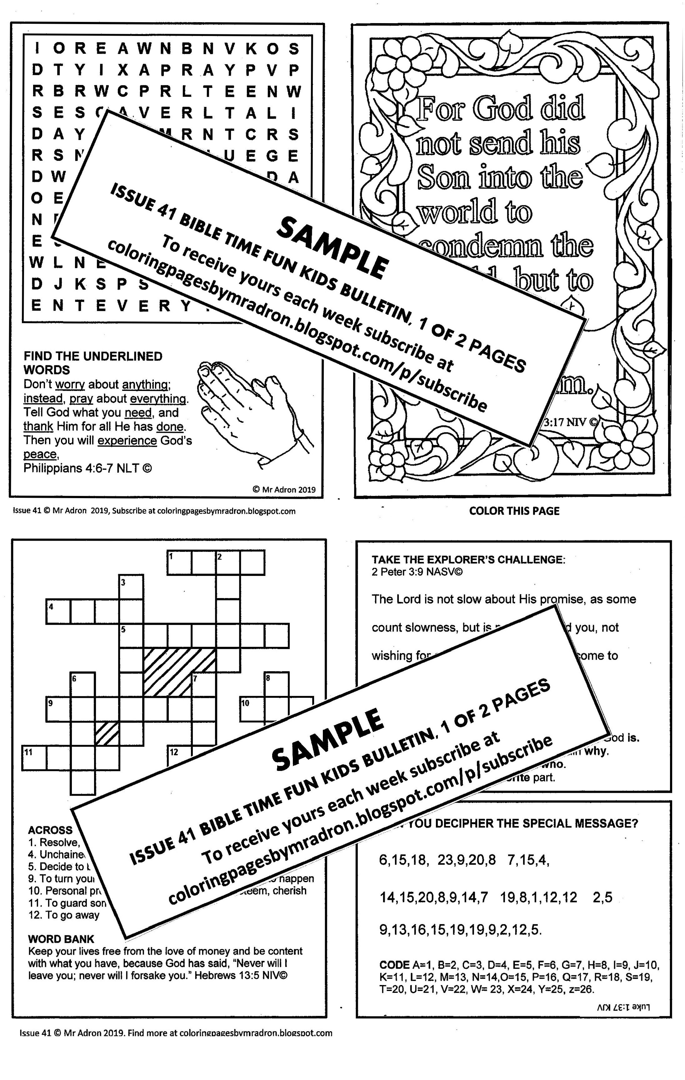 Pin On Bible Fun Activity Printables For Kids