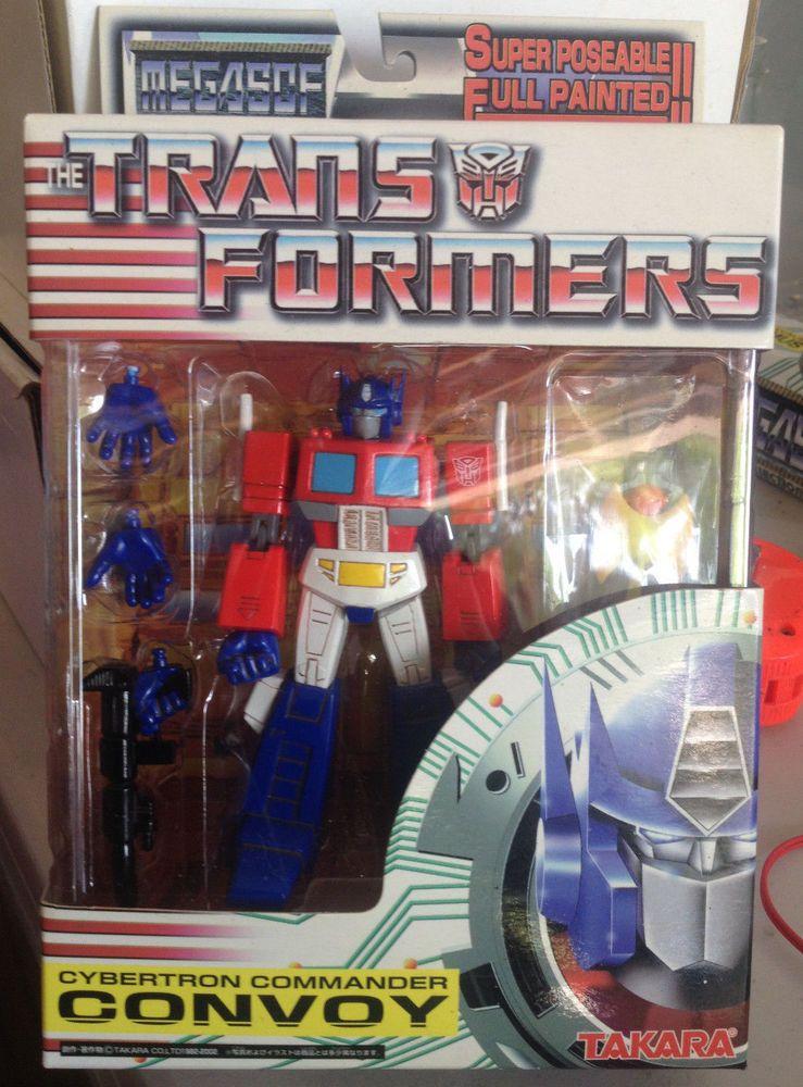 Takara Transformers Mega SCF Optimus Prime Convoy Metallic Ver w/Megatron Rifle #Takara
