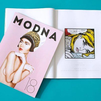 MODNA, september 2012 - Homage to Roy Liechtenstein dekoration & photos by  KITSCH-NITSCH!