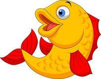 Fish Chef Cartoon Ilustrasi Ilustrator Hewan