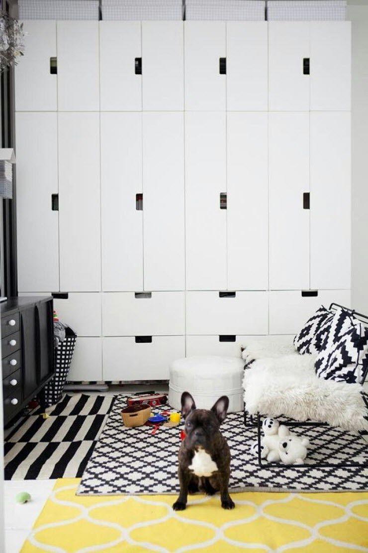 grande armoire enfant stuva ikea placards pinterest chambres salles de jeux et chambre enfant. Black Bedroom Furniture Sets. Home Design Ideas