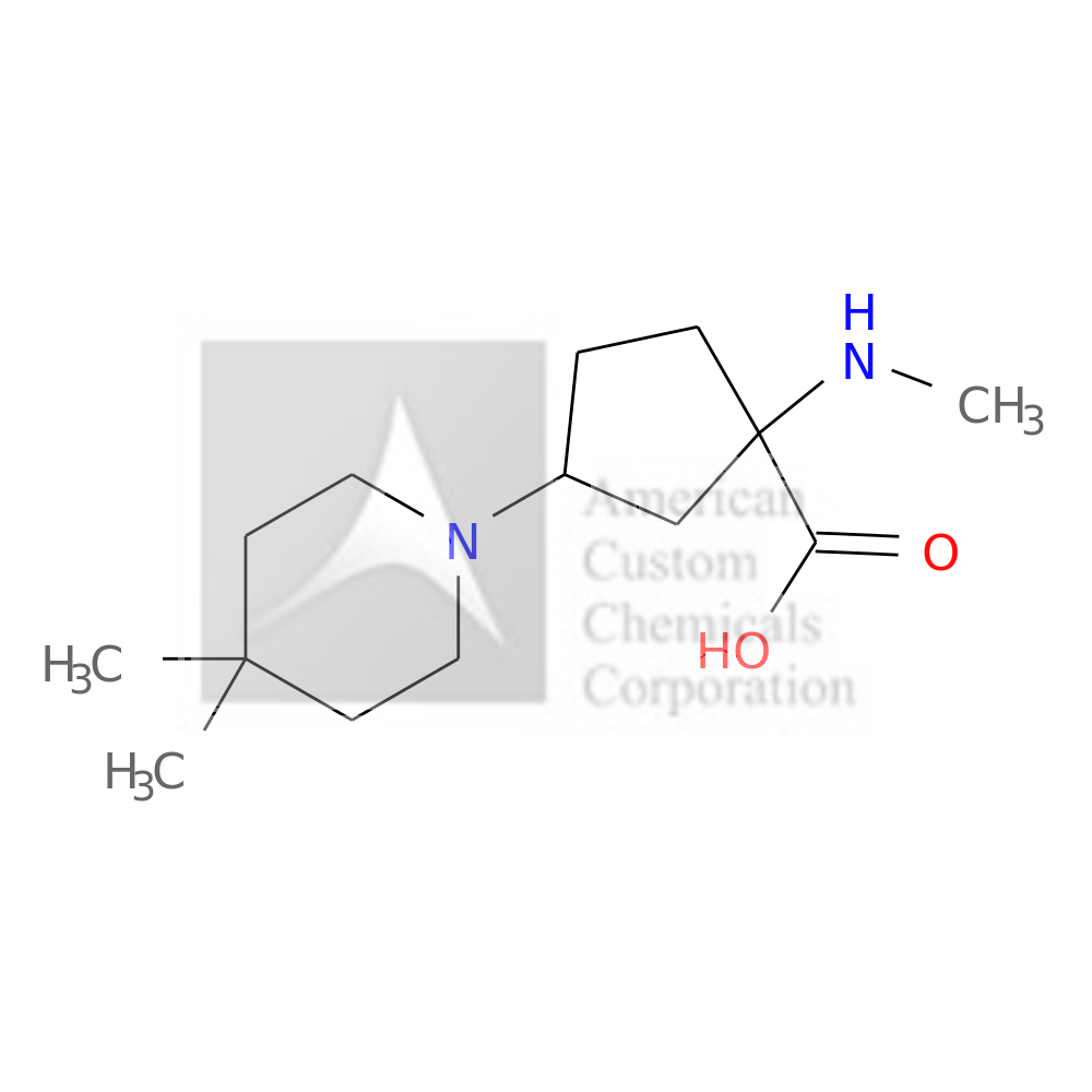3-(4,4-DIMETHYLPIPERIDIN-1-YL)-1-(METHYLAMINO)CYCLOPENTANE-1-CARBOXYLIC ACID is now  available at ACC Corporation