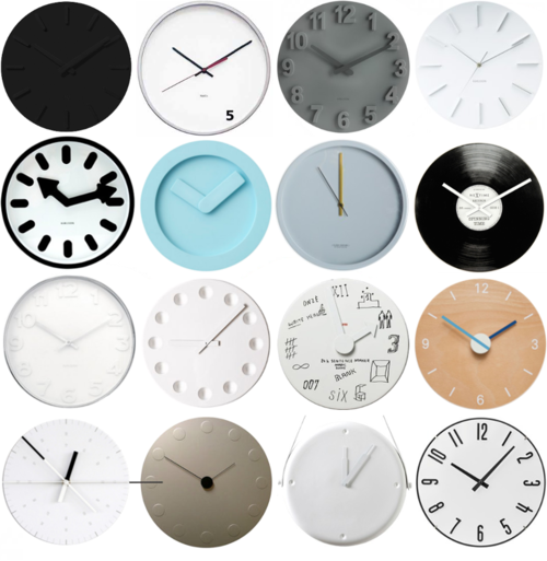 """Diy Design Objects: DIY Clocks - Including One Made With A 12"""" Record!"""