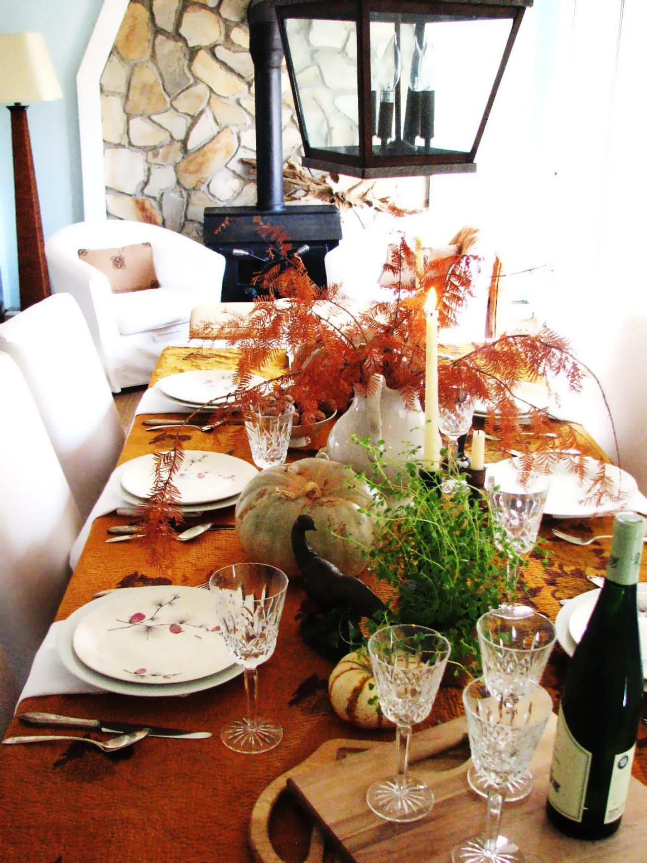Autumn Table Setting Ideas bountiful fall table Host A Fall Farm To Table Dinner Party In The Smoky Mountains
