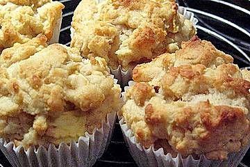 Ugly but tasty! Anklicken zum Vergrößern von Apfel - Quark - Muffins