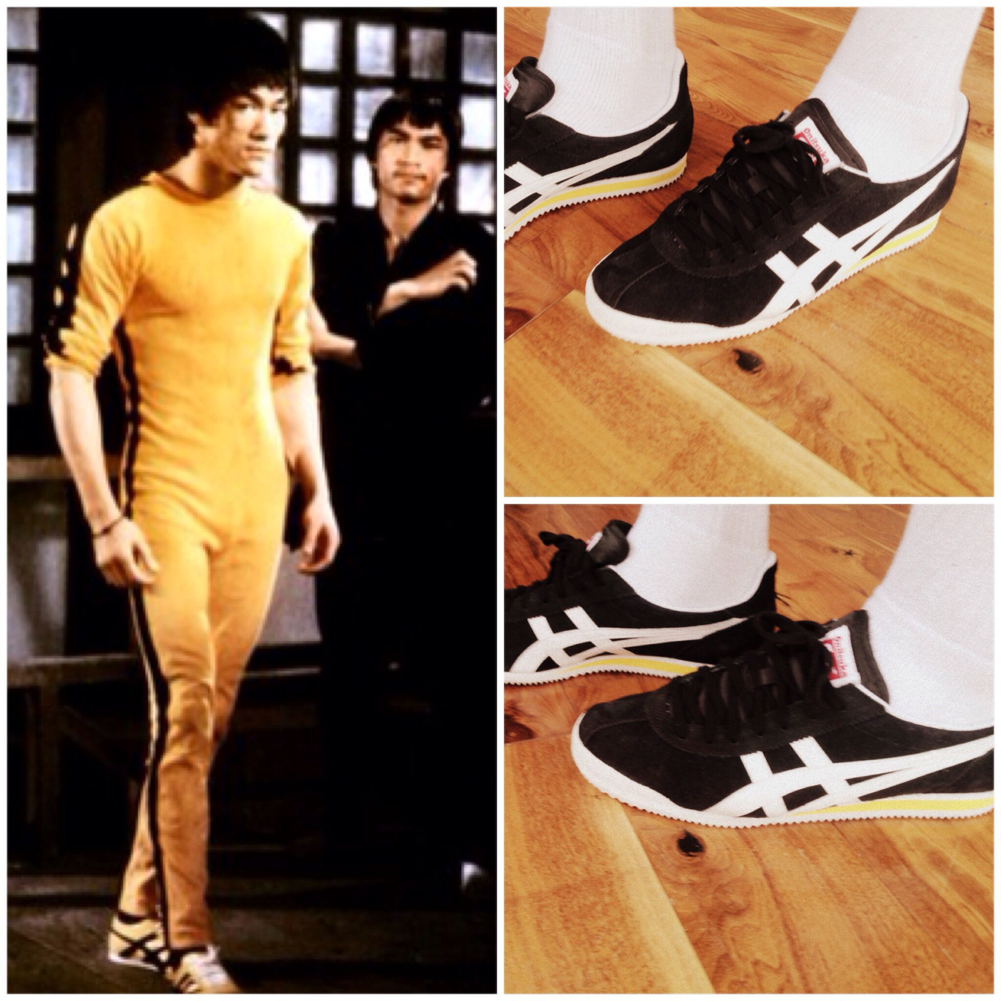 lowest price e7edb 3c2f6 Onitsuka tiger bruce lee casual sport sneakers asics black ...