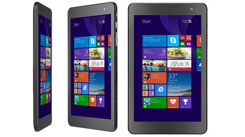 A tablet PC displaying the Windows Store Affordable
