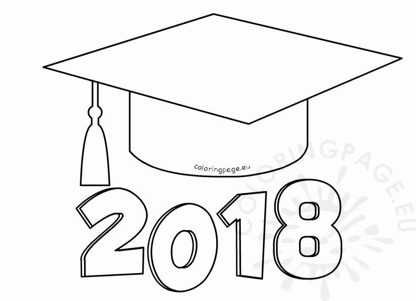 Graduation Cap Coloring Page Best Of Graduation Cap Coloring Page Printable Colouring Coloring Pages Graduation Cap Drawing School Coloring Pages