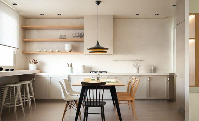 Muebles comedor con diseño elegante y lujoso   Comedores modernos ...