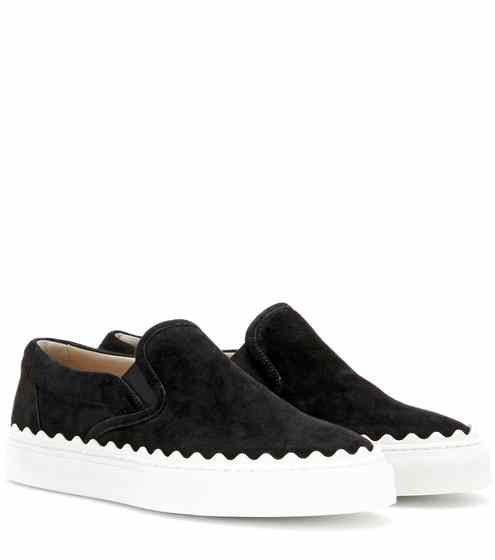 Ivy Suede Slip-On Sneakers C2fHoi