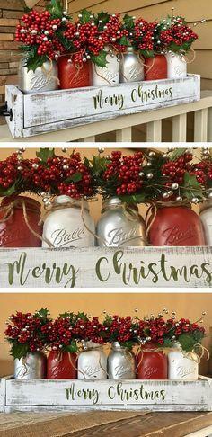 Such A Beautiful Mas Christmas Jars Christmas Diy Christmas Mason Jars