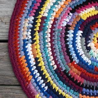 Free easy crochet rug patterns debs crochet my crochet for Easy rugs