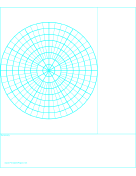 Paper With Polar Grid  Free Printables  Via HttpWww