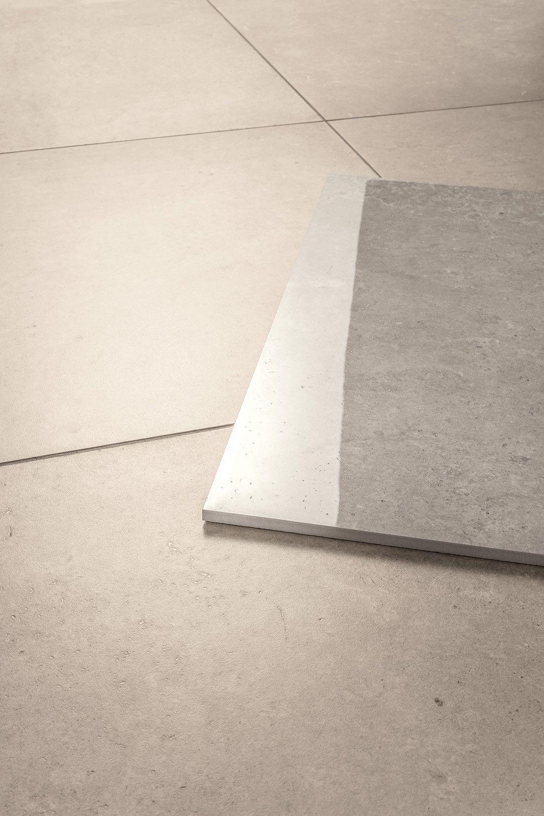 Limestone Beigegrey 60x60 Cm Modena Fliser Lite Baderom Fliser Terrazzo