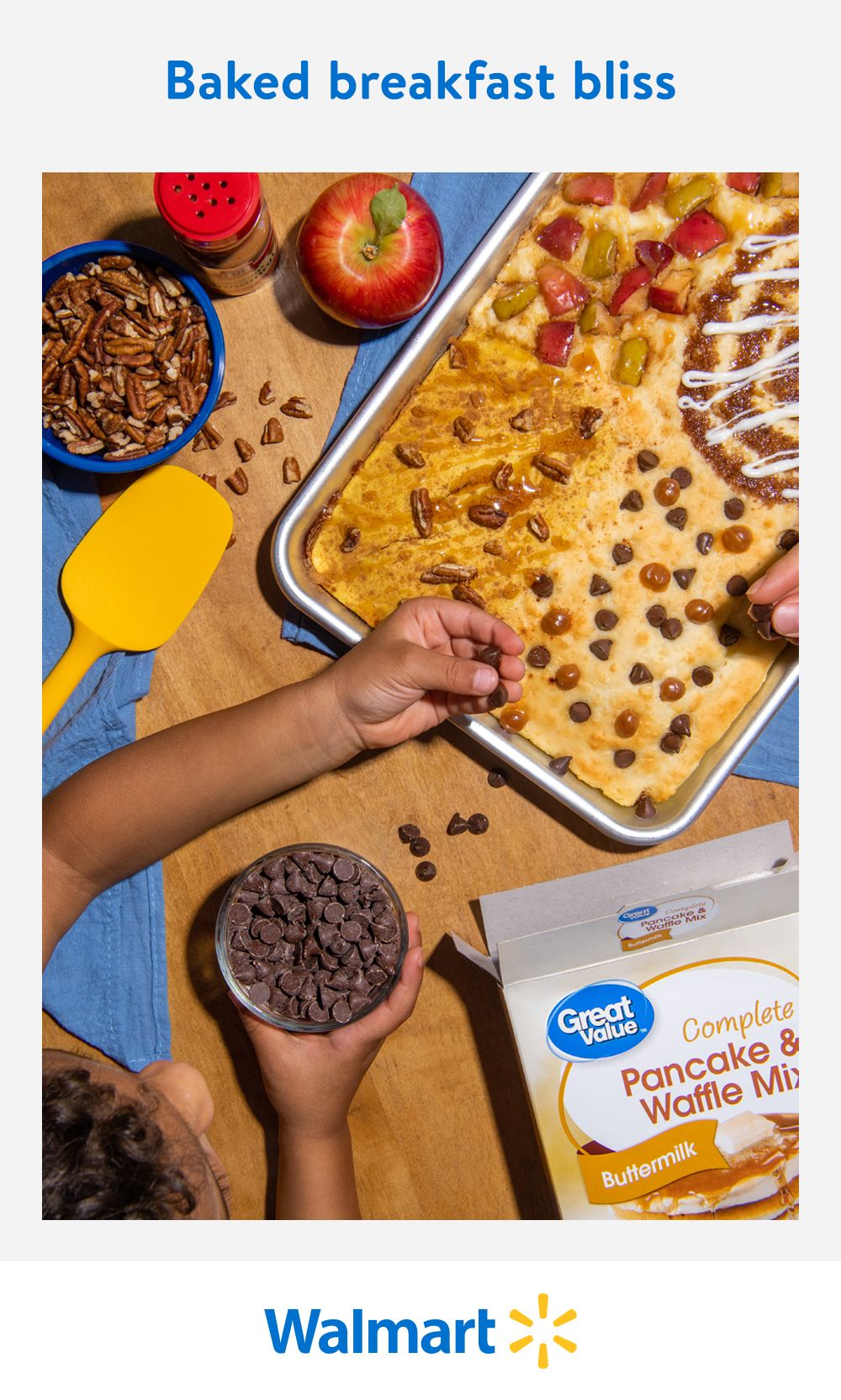 Sprinkle and swirl delicious fall flavors for an easy, sweet or savory breakfast treat. Shop Walmart for everyday low prices on fruits, nuts, spices, and more for your seasonal baking needs.
