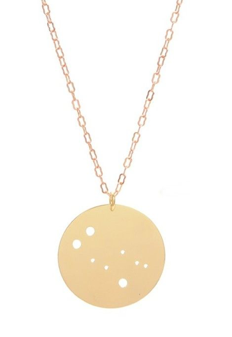 Zodiac Constellation Necklace