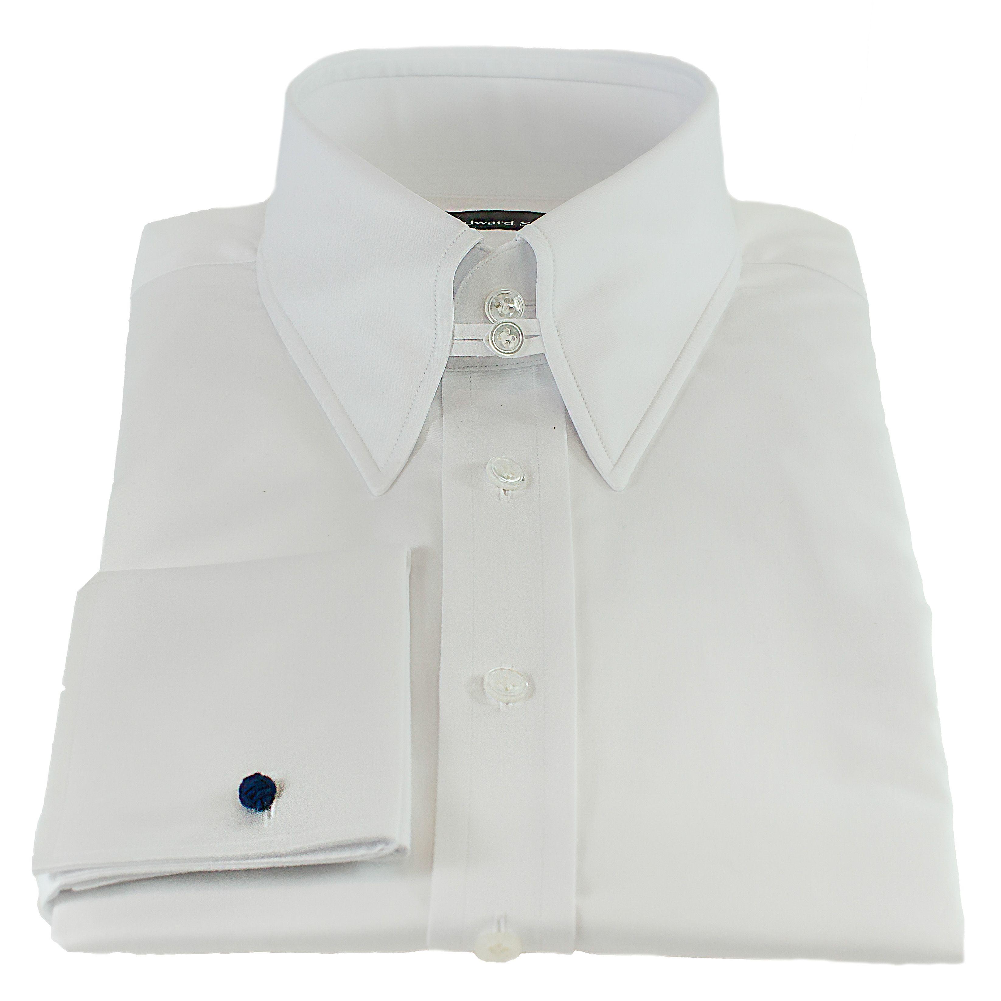 Mens White Dress Shirts Tab Collar Bcd Tofu House