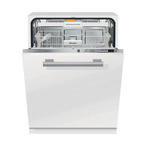 Miele G6060SCVI Fully Integrated Dishwasher, White