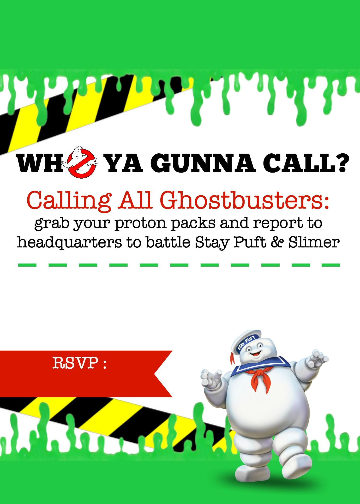 Displaying Free Ghostbusters Invite Jpg Ghostbusters Birthday Party Ghostbusters Party Ghost Busters Birthday Party