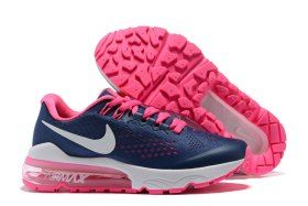 8663d87df9be Delicate Nike Air VaporMax Flyknit Navy Blue Pink White 859666 013 Womens  Running Shoes Trainers