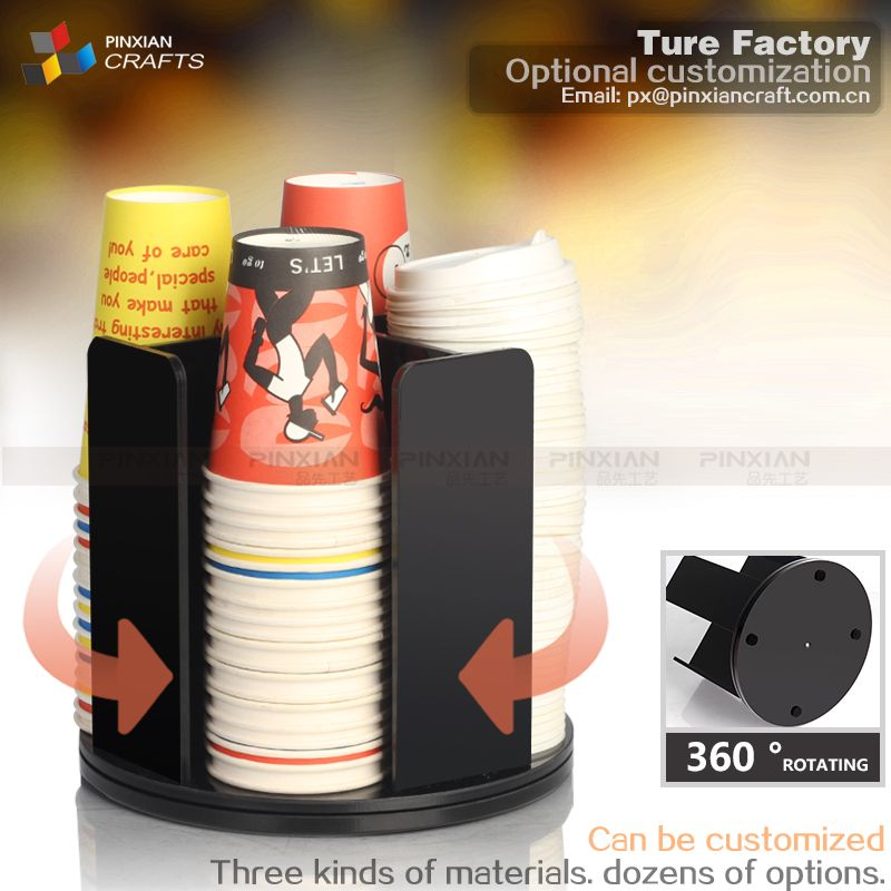 Black Home Coffee 5 Oz Paper Cup Dispenser Items:7009S-B