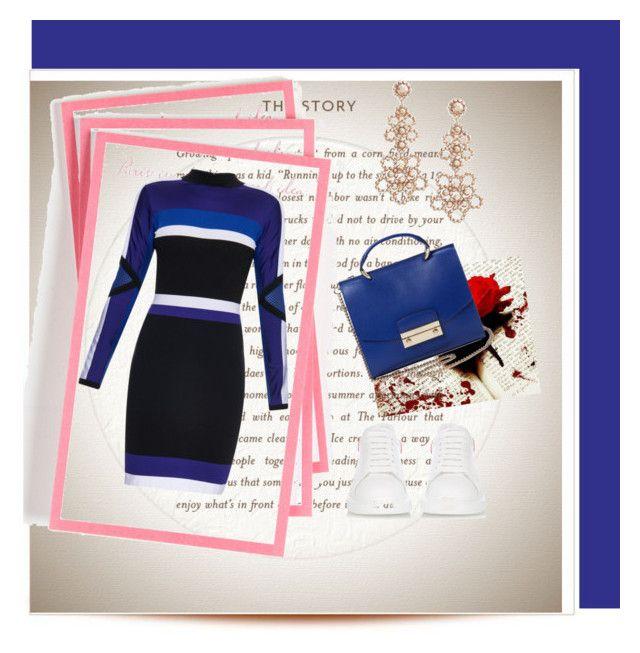 """""""Sin título #469"""" by debbie-grajeda on Polyvore featuring moda, Ben's Garden, Versace, Kate Spade, Alexander McQueen y Handle"""