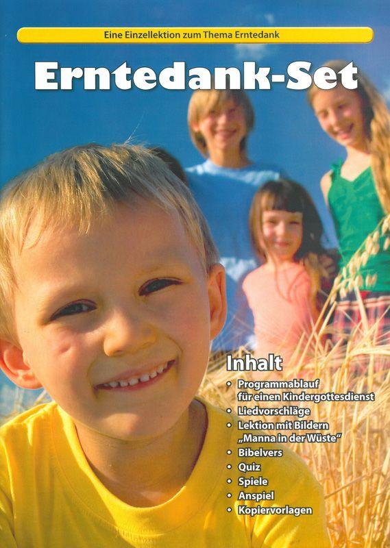 Erntedank set einzellektion zum thema erntedank for Kindergottesdienst herbst