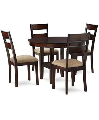 closeout branton 5 piece dining room furniture set townhome rh pinterest com
