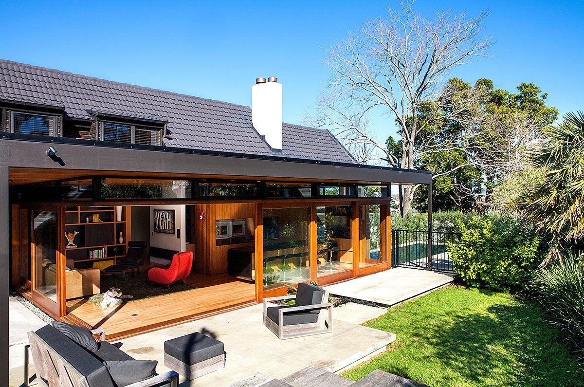 Casa en Nueva Zelanda | Nueva zelanda, Arquitectura casas y En esta casa