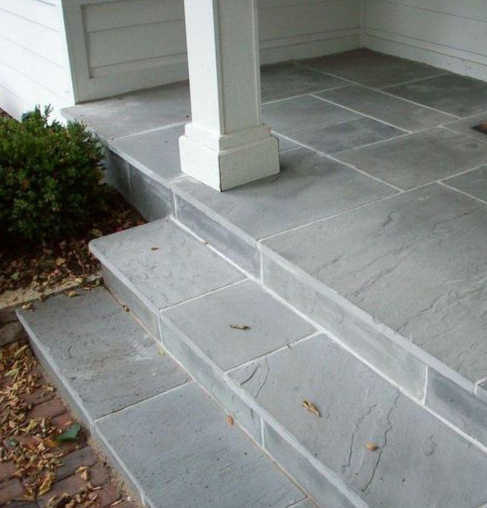 Ideas, laying porcelain tile over concrete outside floor ...
